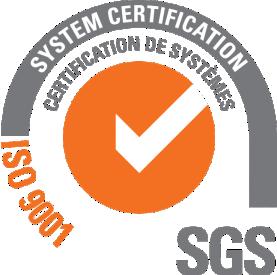 Sistema de Gestión de Calidad certificado bajo la norma